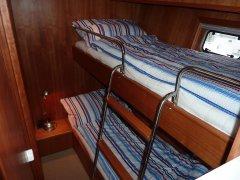 Schlafkabine mit Doppelstockkoje (210 x 70cm)